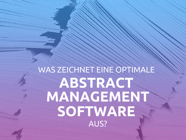 Optimale Abstract-Management-Software