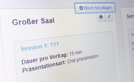 Beschreibung für Konferenz-Sessions verfassen