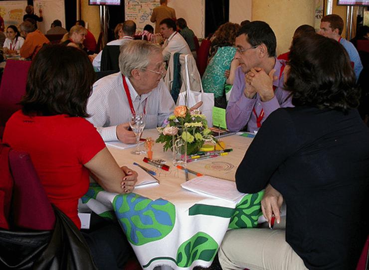 World Cafe, Fish Bowl und Open Space Alternative Konferenzmodelle