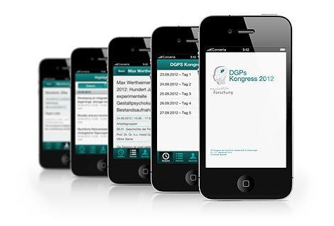 Die Converia-App für Ihre Teilnehmer vor Ort.