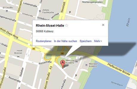 Binden Sie Google Maps ein