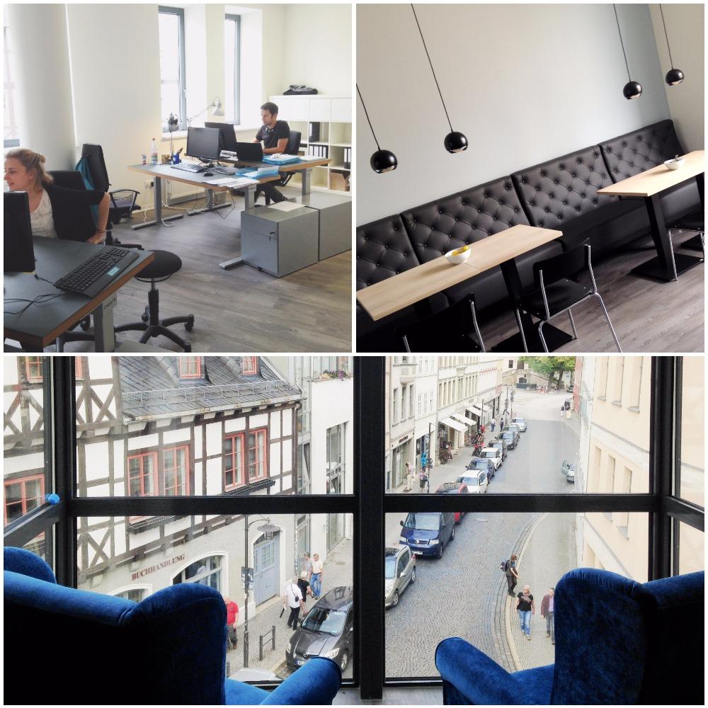 Das neue Converia-Büro